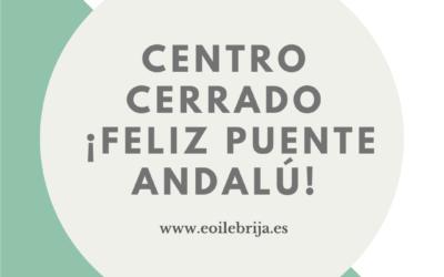 CIERRE CENTRO PUENTE DE ANDALUCÍA