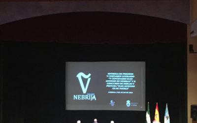 Entrega de Premio V Certamen literario V aniversario Elio Antonio de Nebrija
